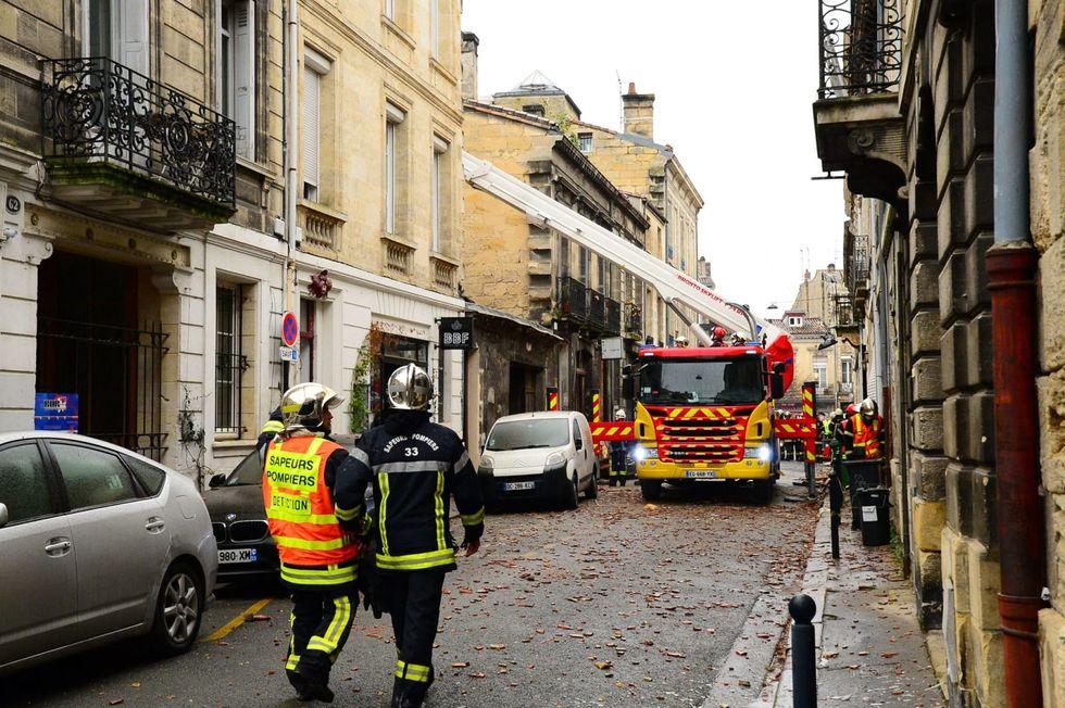 Rescuers seek two missing after early morning blast rocks Bordeaux