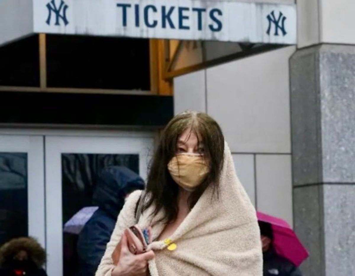 Yankee stadium becomes vaccination site for New York's poor