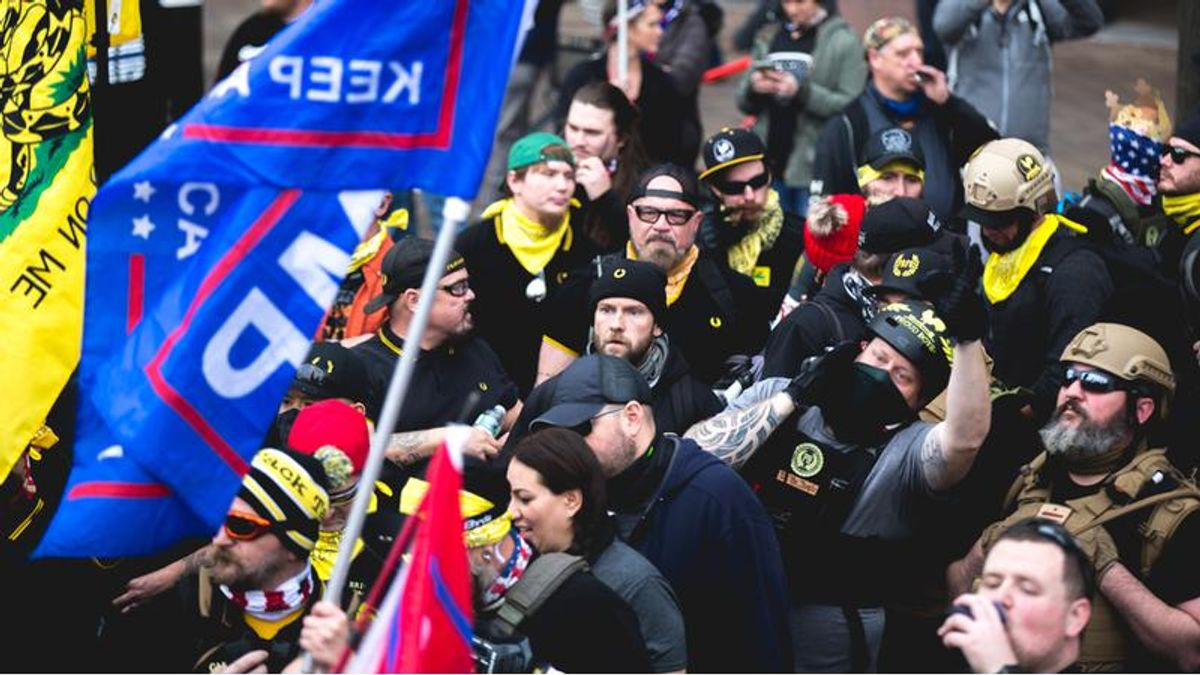 REVEALED: Oath Keepers and Proud Boys coordinated attack to stop vote count