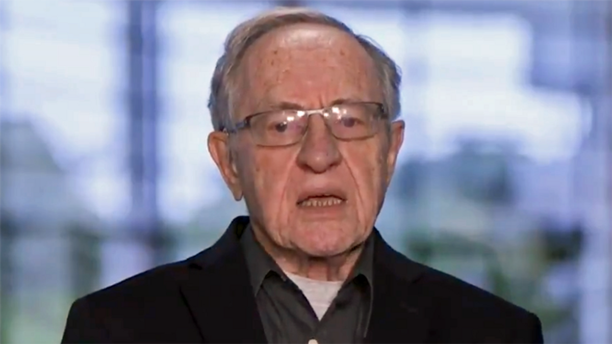 Even Alan Dershowitz is stunned by Bruce Castor speech: 'I have no idea what he's doing'