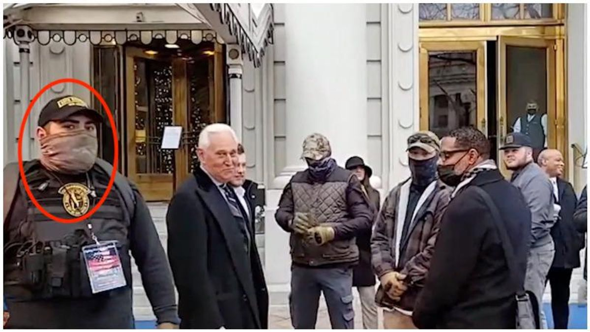 NYT reveals that Roger Stone's Oath Keeper bodyguards were part of Capitol riot