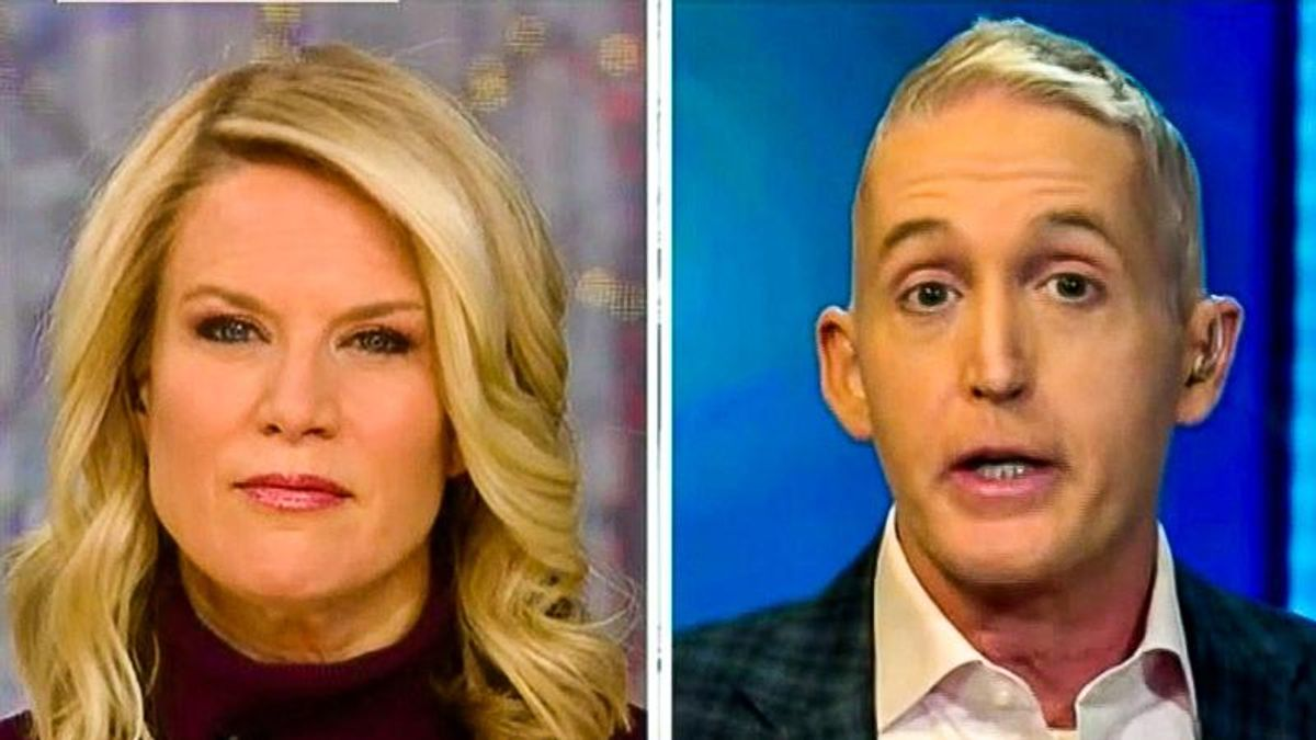 'You blew it': Trey Gowdy unloads on Trump's 'miserable' defense team after second day of trial