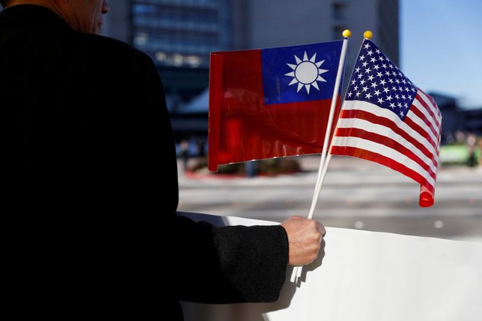 Taiwan expresses 'admiration' for Biden concern in Xi call