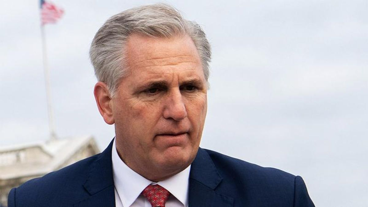 'Sad, pathetic and weak': Kevin McCarthy demolished on Morning Joe for his mealy-mouthed defense of Trump