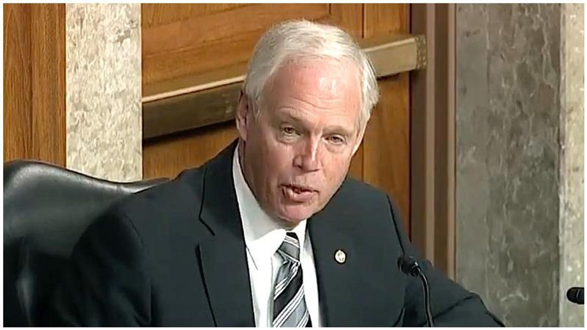 Ron Johnson knows his 'ridiculous' Capitol riot claims aren't true – but he is desperate to keep his job: report