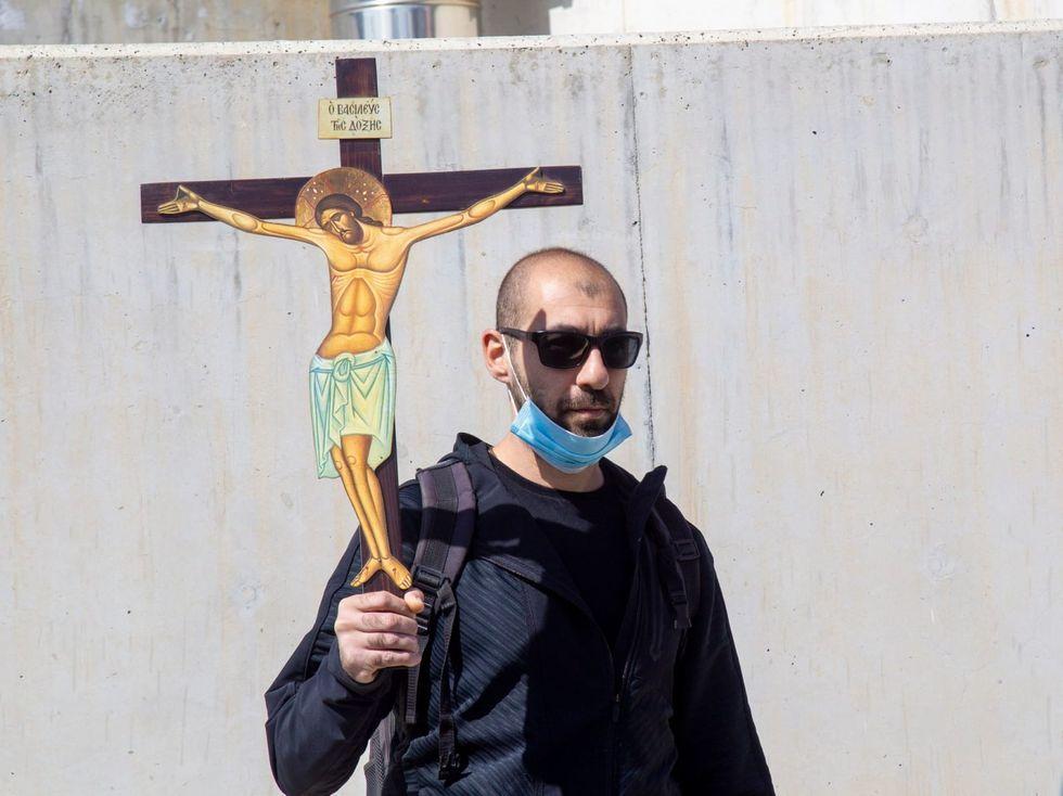 Christians demonstrate against Cyprus' Eurovision entry 'El Diablo'