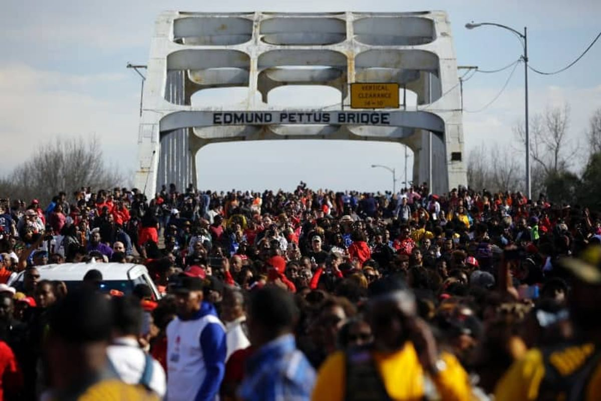 Biden to sign order to make voting easier on Selma march anniversary