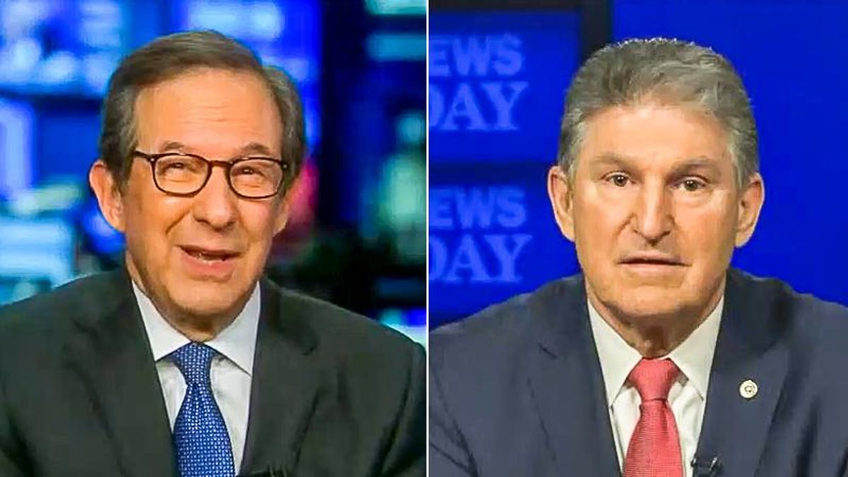 Chris Wallace busts Joe Manchin: 'Are you enjoying your position of power a little too much?'