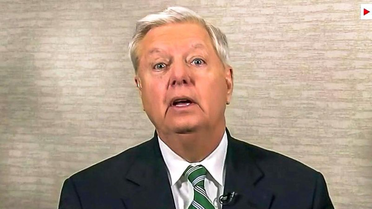 'That's reparations!' Lindsey Graham throws a tantrum over loan forgiveness for Black farmers