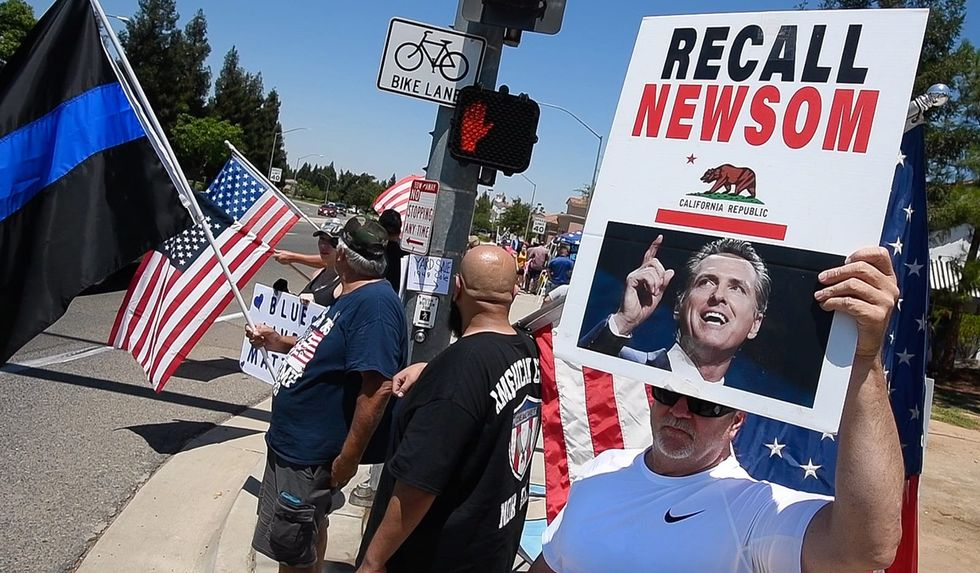 Newsom recall leaders say they have enough signatures to trigger an election