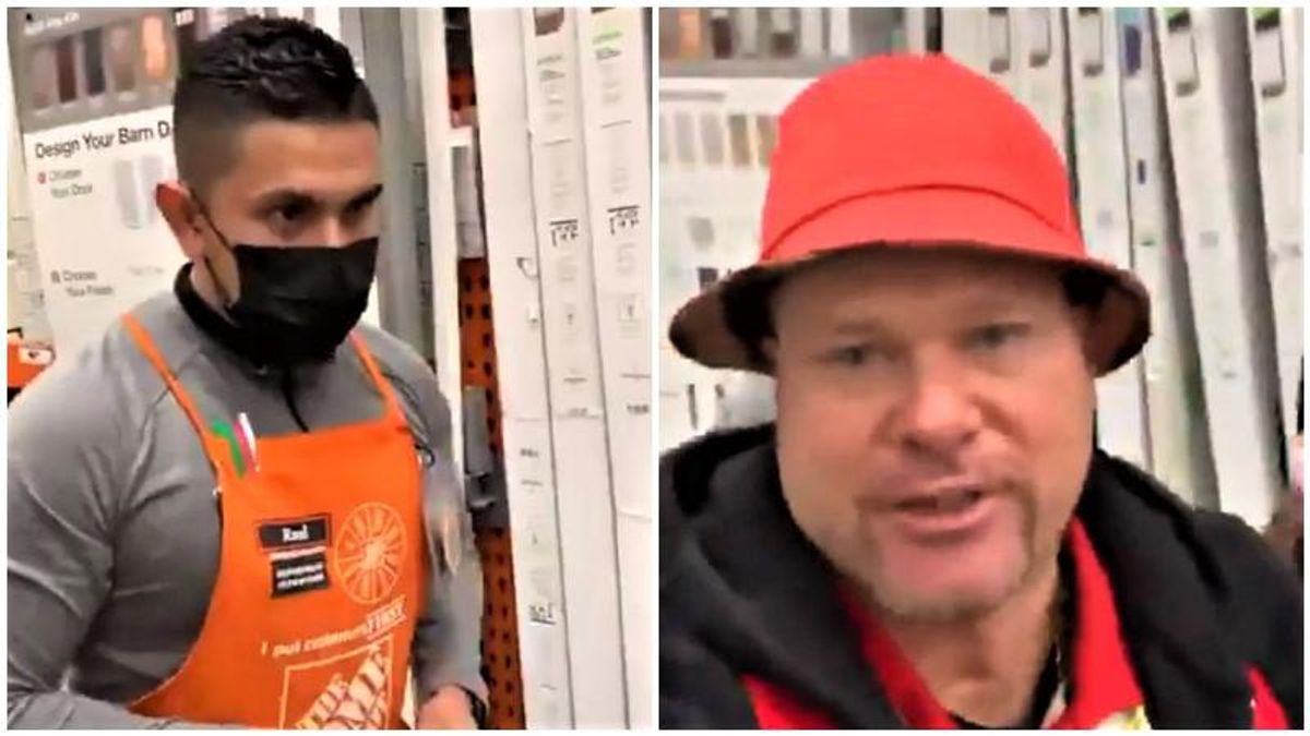 'I'm a super spreader!' Anti-masker makes life miserable for Home Depot workers