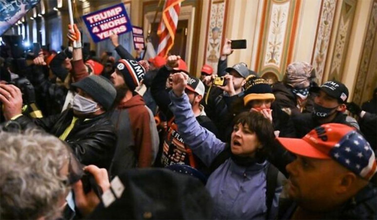 FBI flooded with over 230,000 tips as they hunt hundreds more Capitol rioters: report