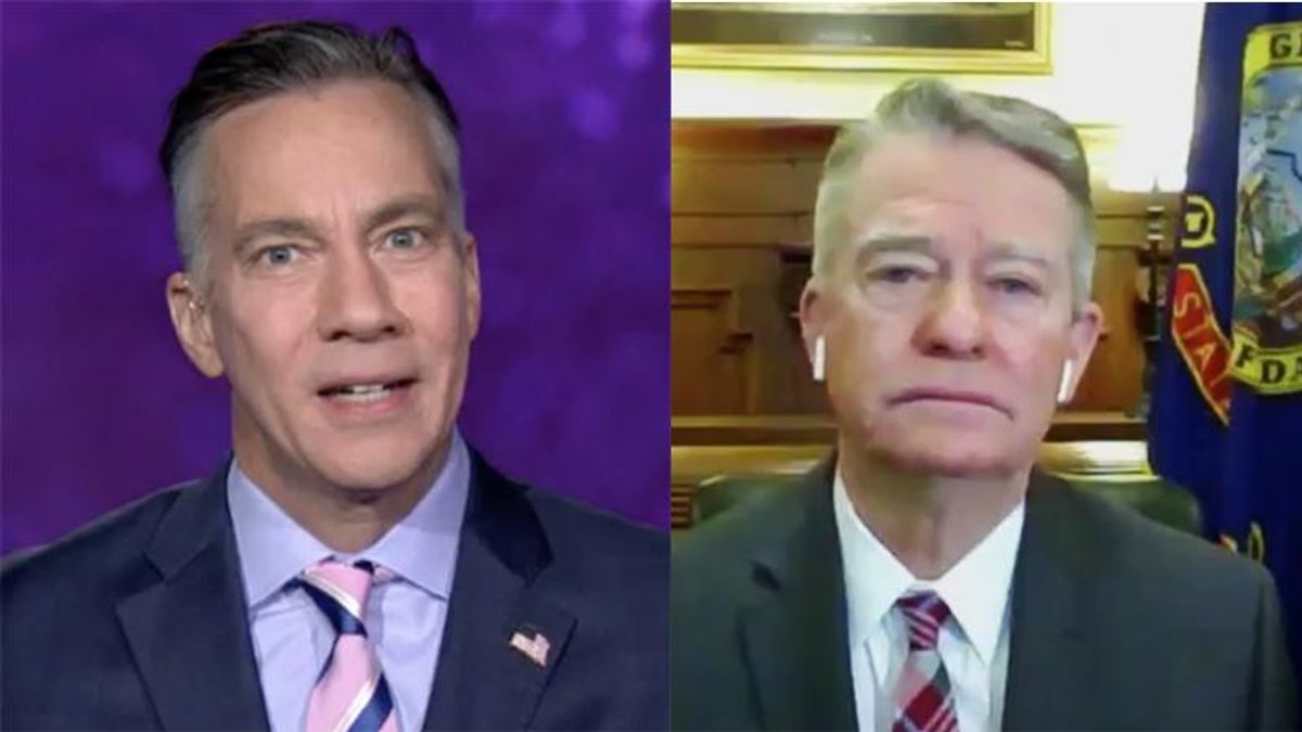 'It's not conflicting': GOP governor set straight by CNN host for questioning COVID mask mandates