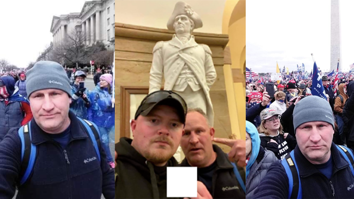 Virginia thought policing problems were better when officers joined BLM rally — then they stormed the Capitol
