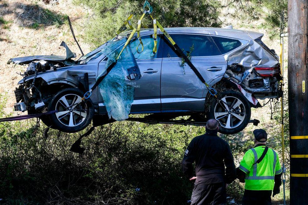 Tiger Woods breaks silence 5 days after crash