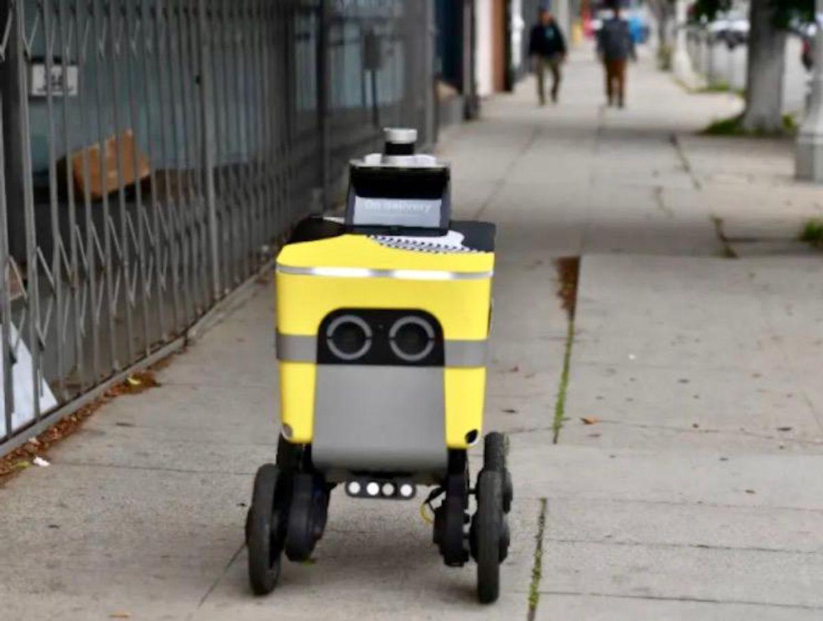 Uber spins off robot delivery unit of Postmates