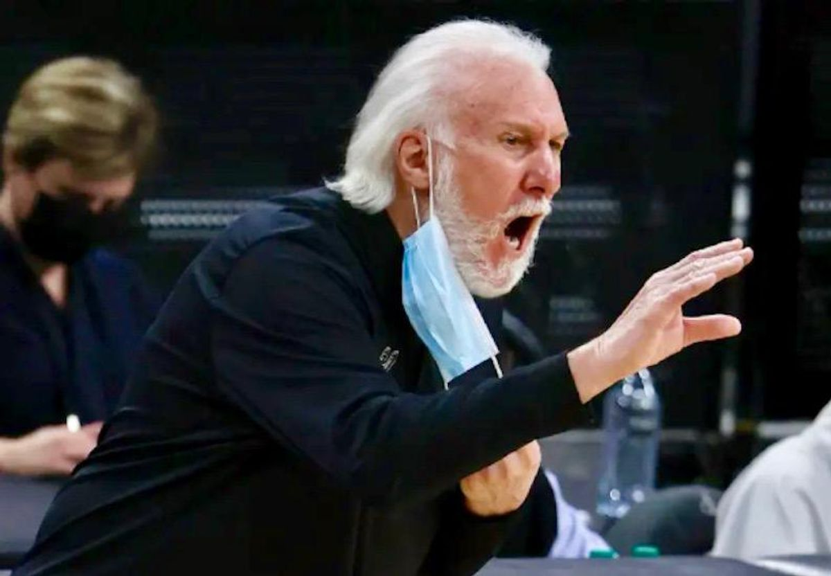 San Antonio Spurs head coach slams Texas governor over 'ignorant' mask decision