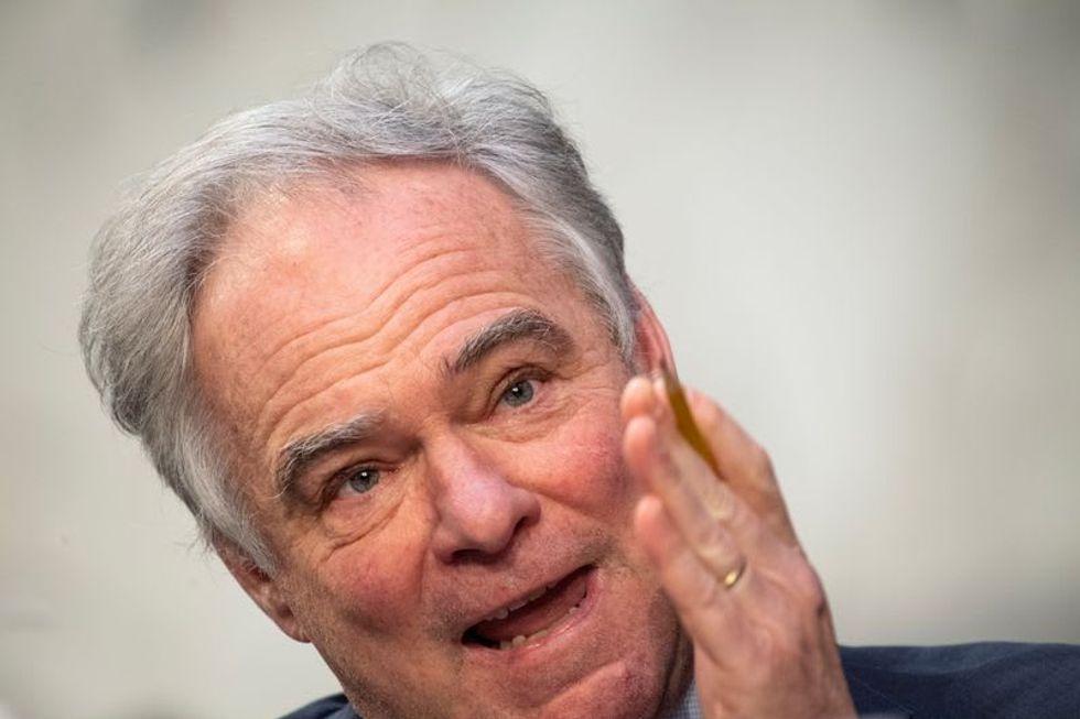 Senators offer bill to rein in Biden war powers after Syria strike
