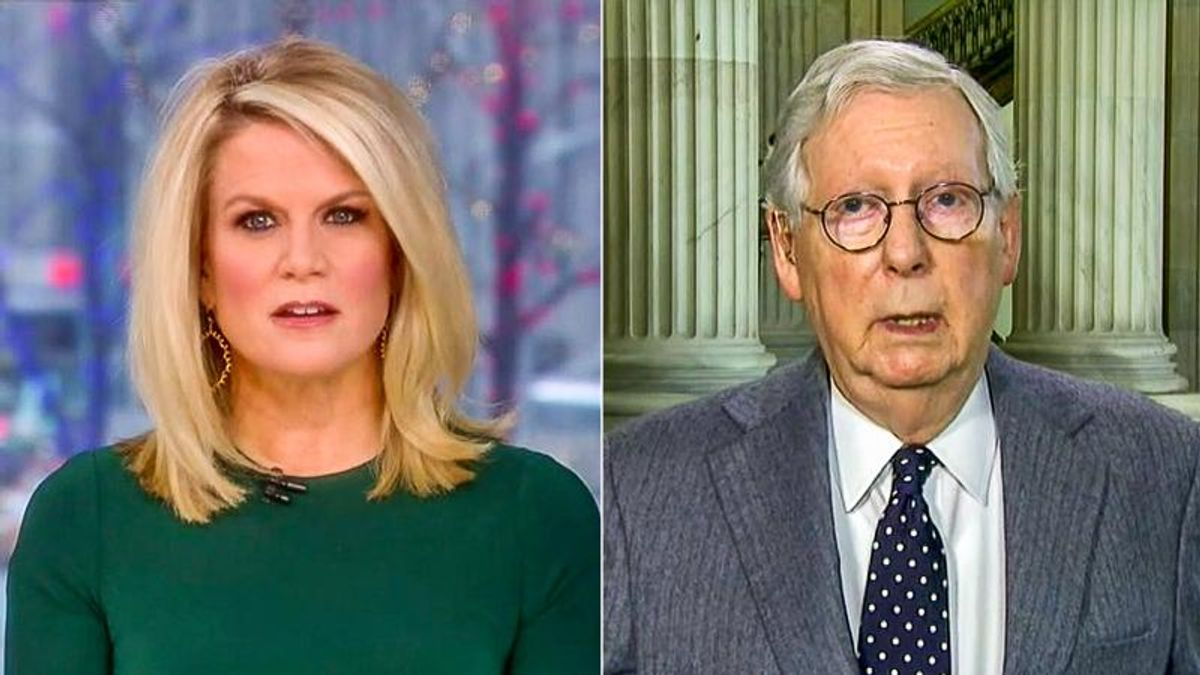 Mitch McConnell 'concerned' people won't go back to work if they get $1,400 checks