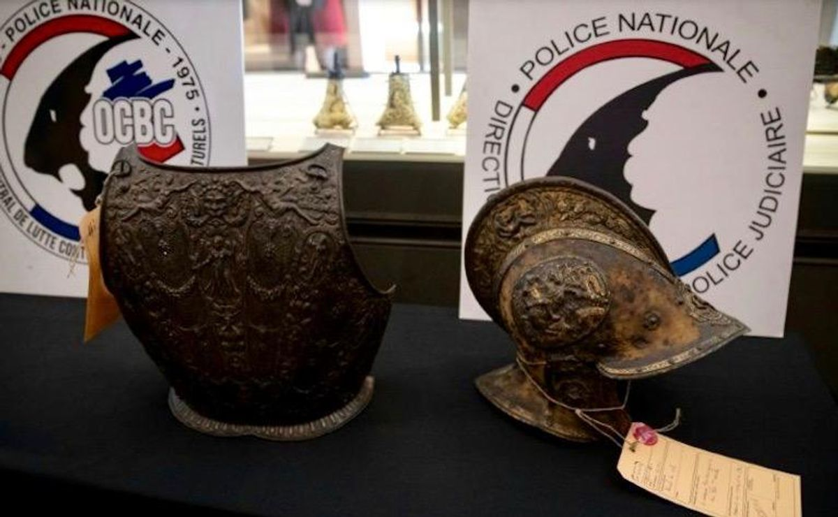 Louvre recovers 16th-century armor, four decades after theft