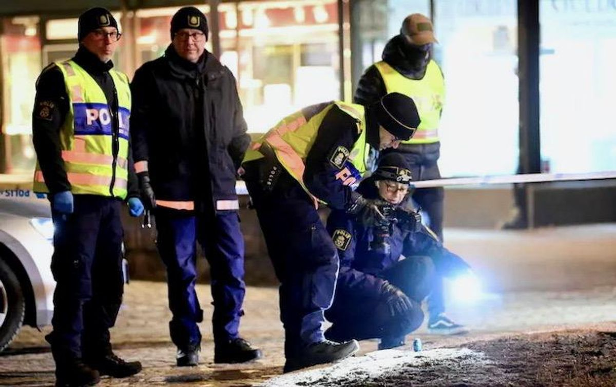 Knife attack in Sweden leaves at least eight injured, three critically