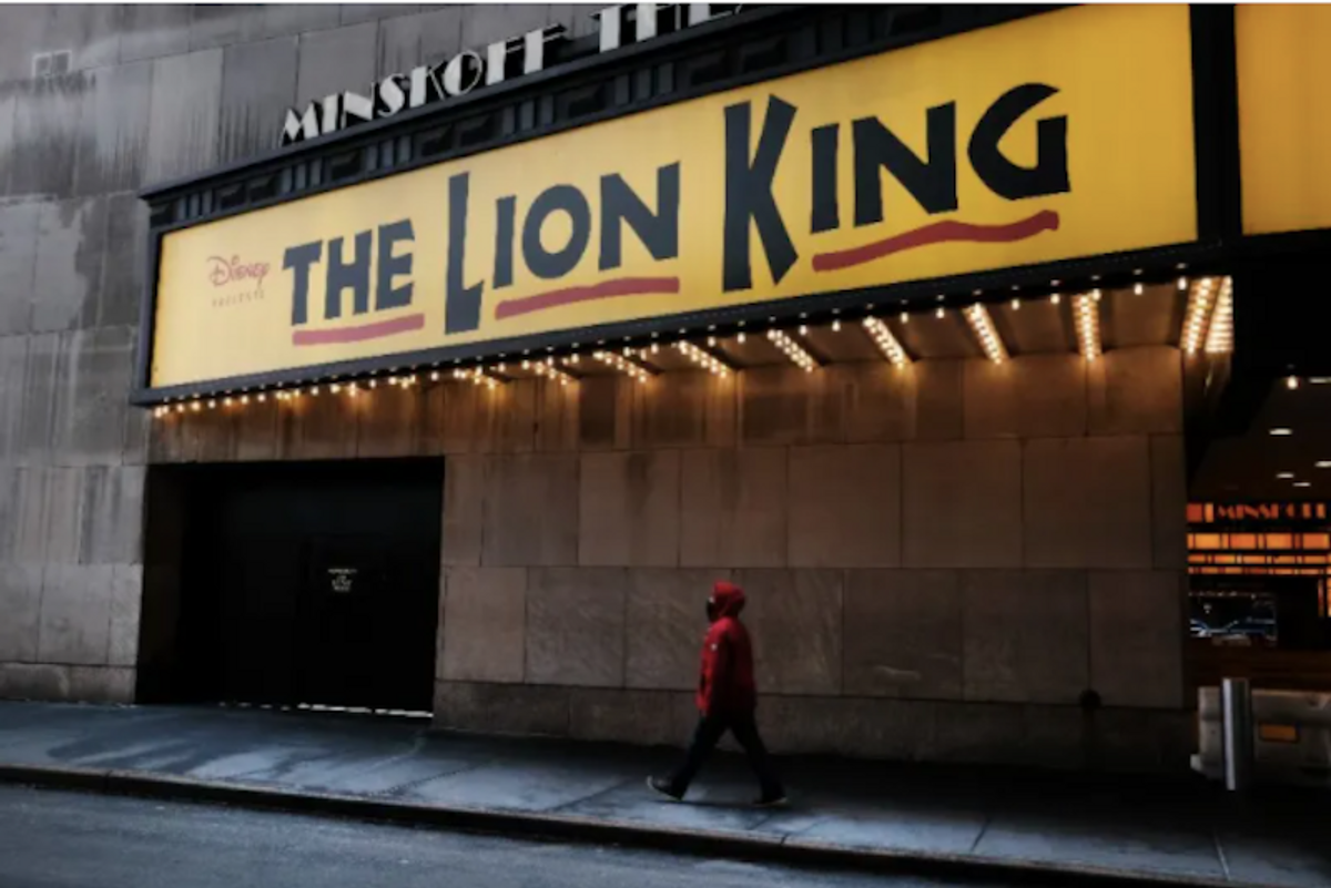 Some New York theaters allowed to reopen in April