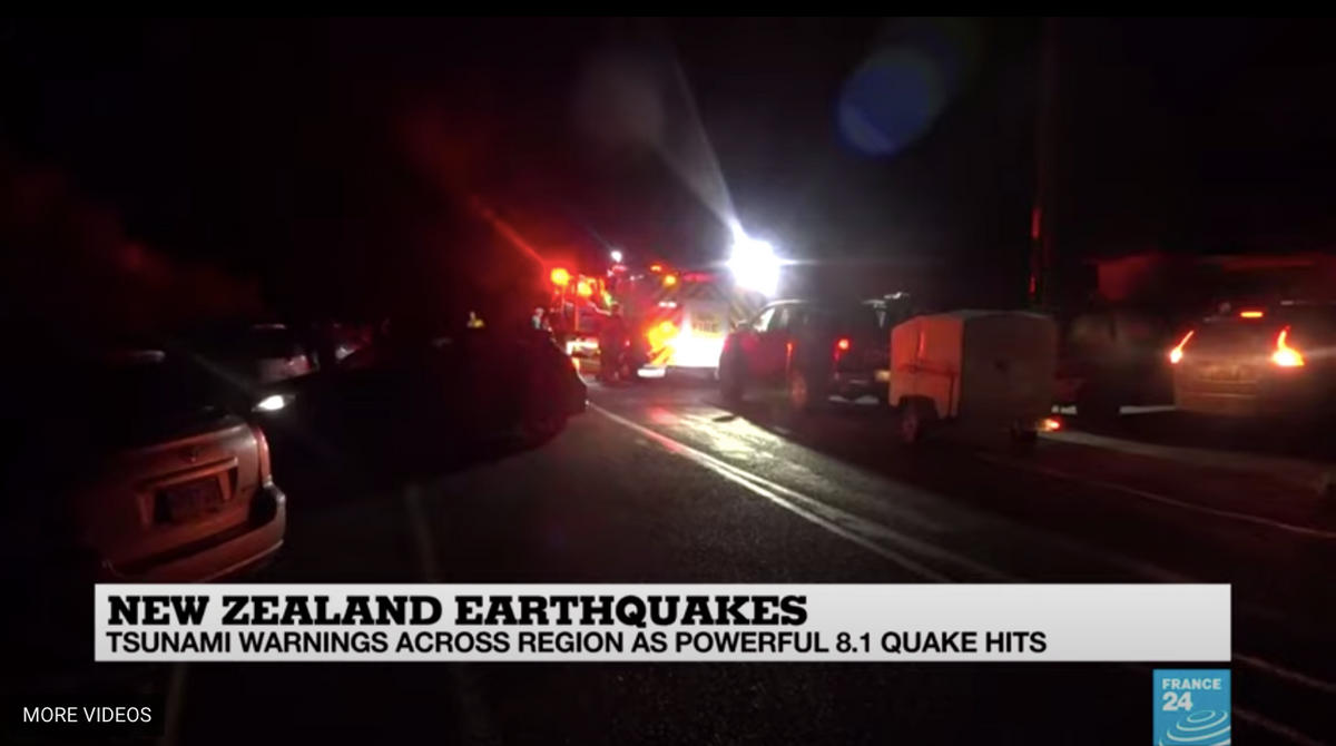 Thousands evacuate after powerful 8.1 earthquake strikes off New Zealand