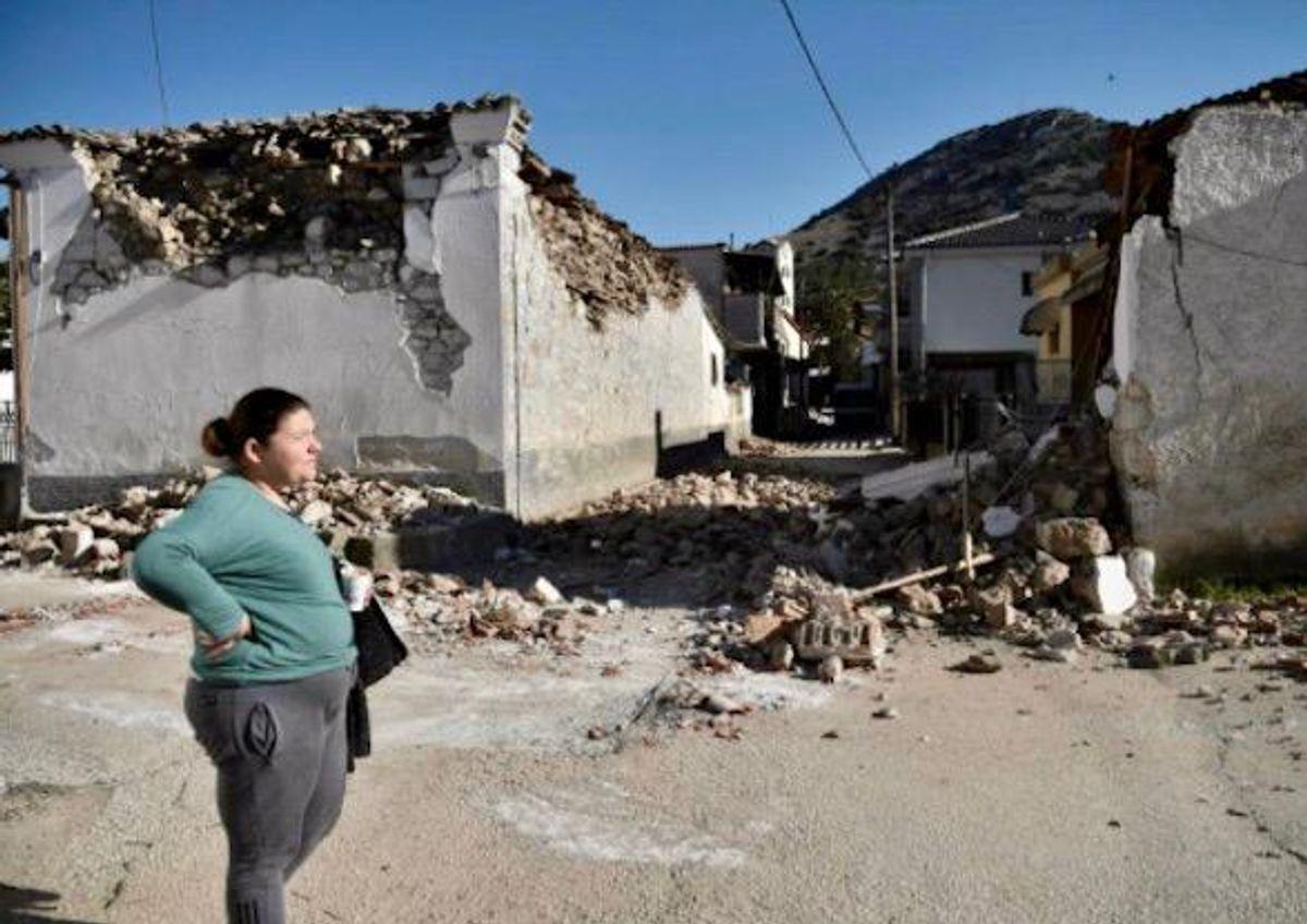 Greece rocked by new quake near city of Larissa