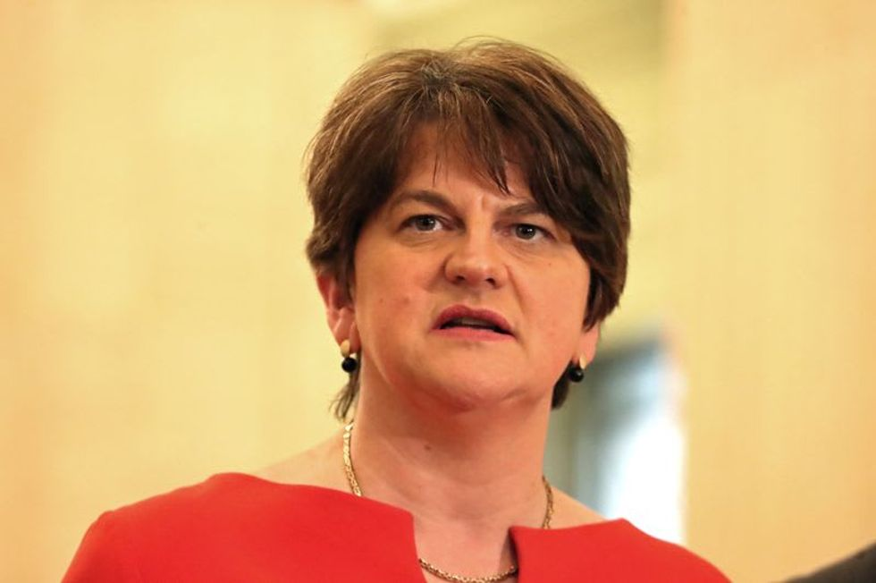 EU not interested in protecting Belfast peace agreement: Northern Ireland first minister