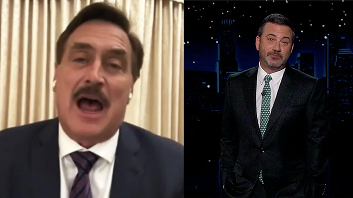 Jimmy Kimmel details timeline of Mike Lindell's empty promises of 'evidence of election fraud'
