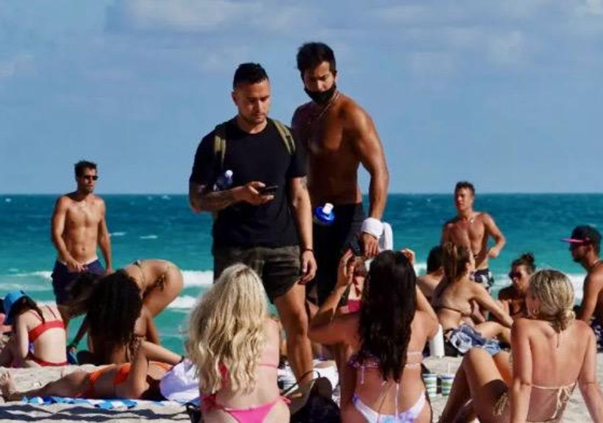 Florida experiencing massive surge in COVID-variant cases tied to spring break invasion: report