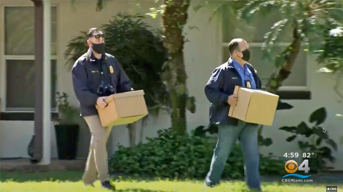 Florida Republican taken into custody on felony election fraud charges: report