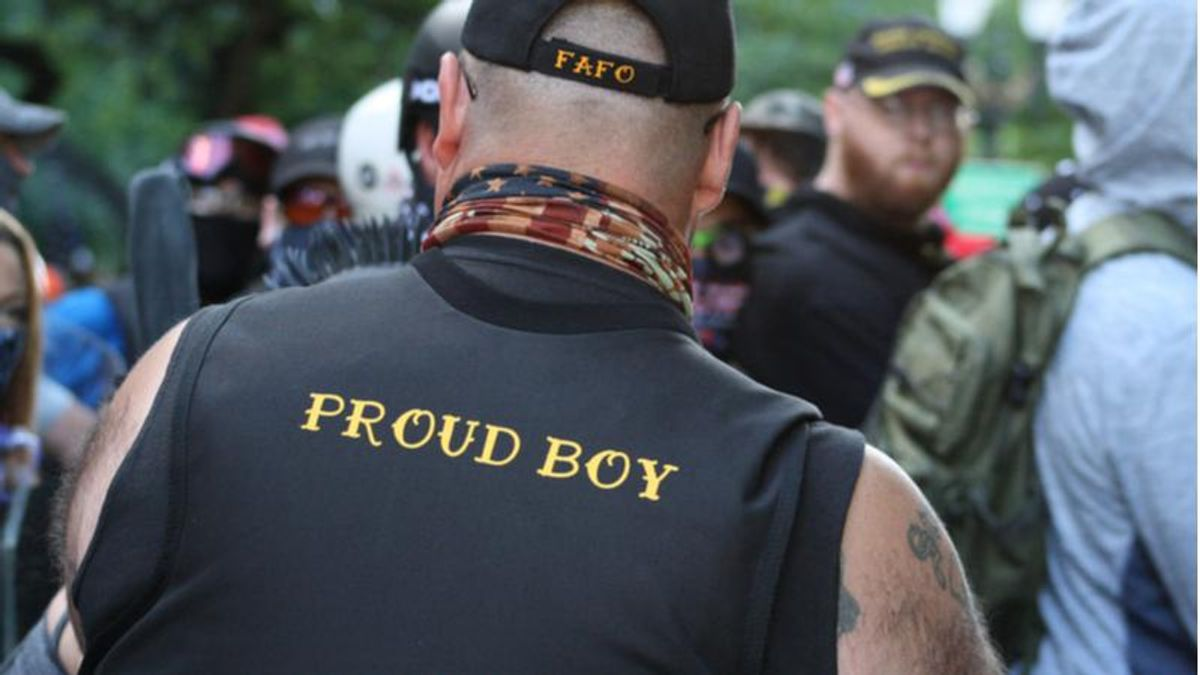 Proud Boy declared 'cops are the primary threat' on morning of insurrection: report