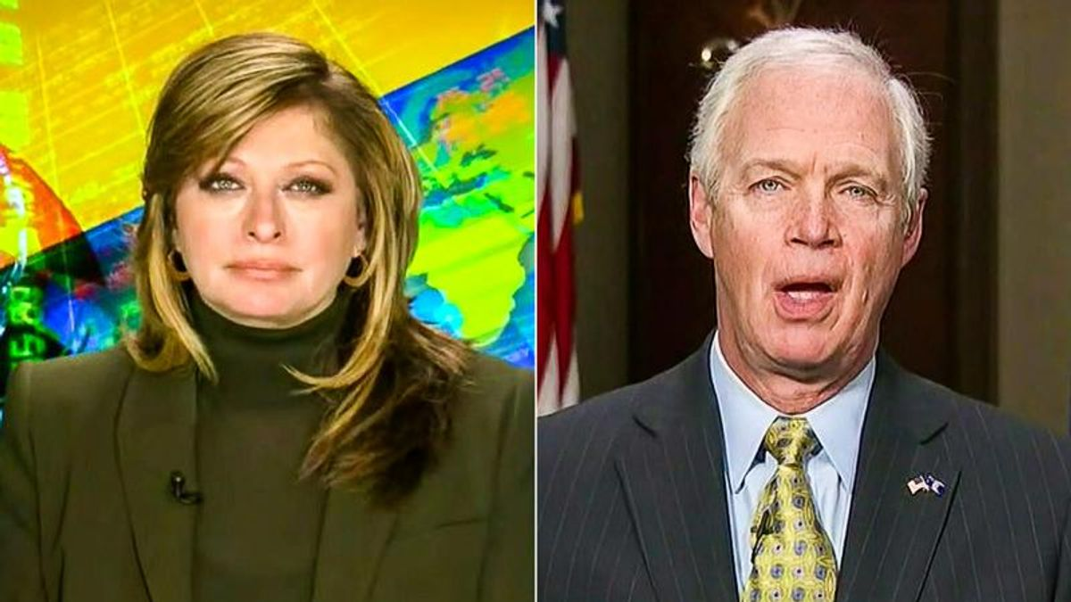 'They are silencing me': Fox News gives Ron Johnson airtime to defend 'racist' remarks on insurrection
