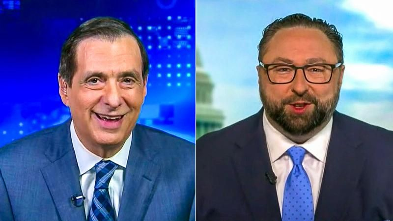Fox News host laughs as Jason Miller lies about Biden's 'wipeout' on Air Force One's stairs