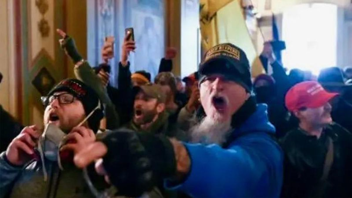 BUSTED: FBI tracks down New Jersey Capitol rioter after his elderly mother gossips about him to a friend