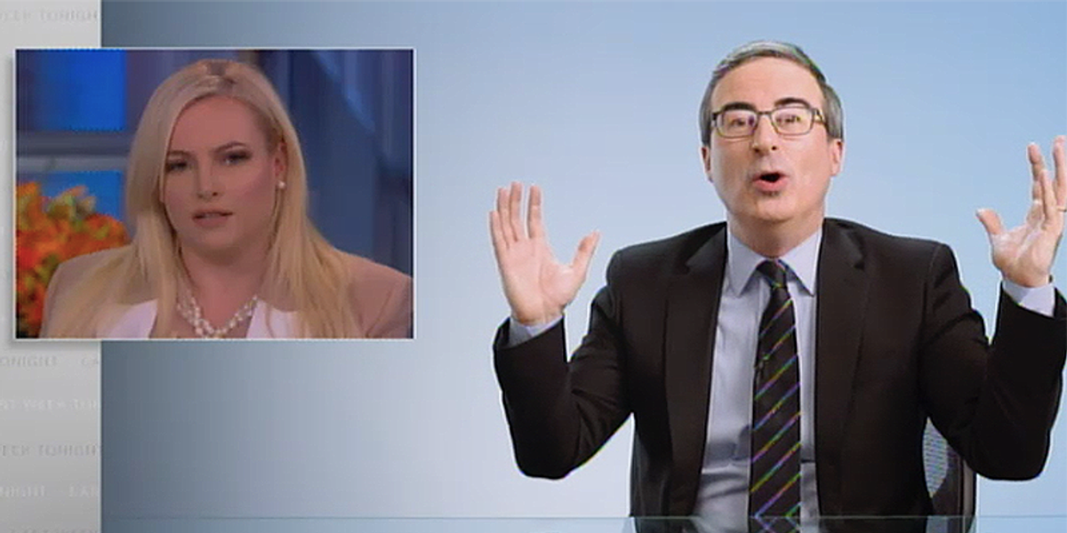 www.rawstory.com: John Oliver blasts Meghan McCain for call to stop Asian hate after saying people can call it the China virus