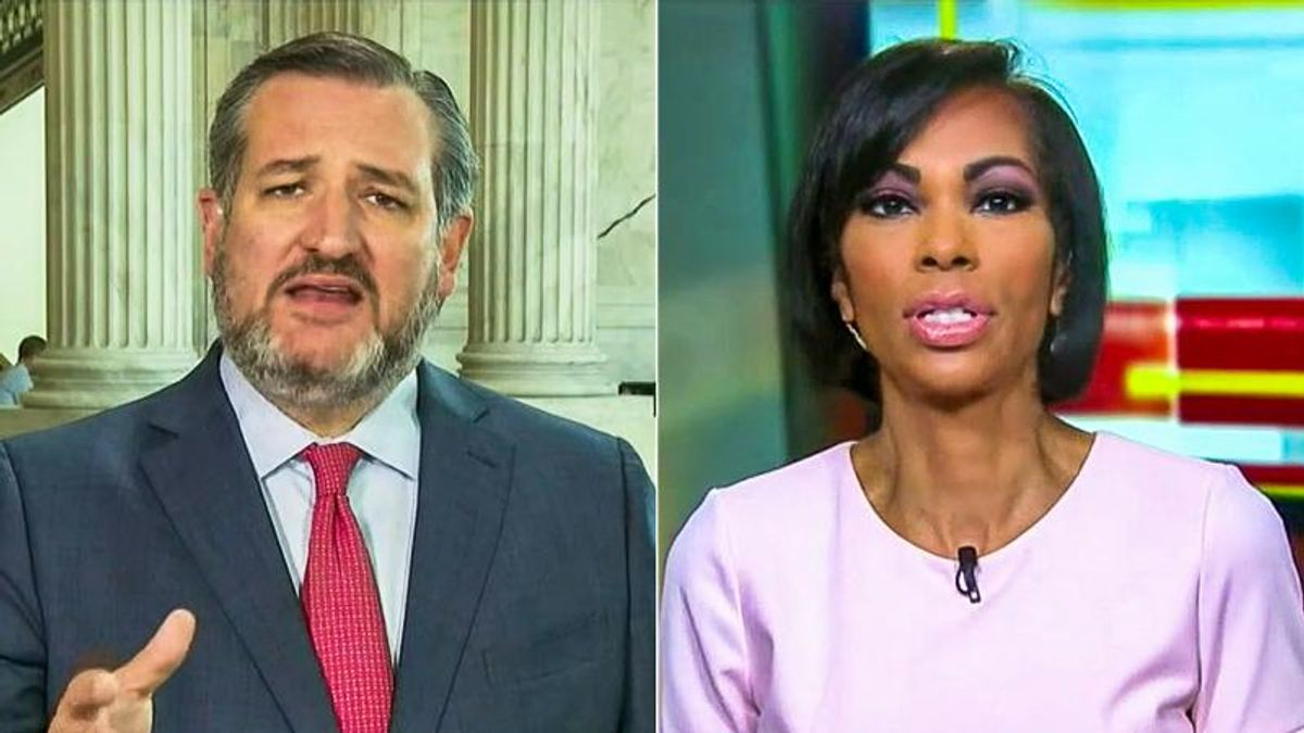 WATCH: Fox News host ignores Boulder mass shooting to ask Ted Cruz about Kamala Harris's laugh