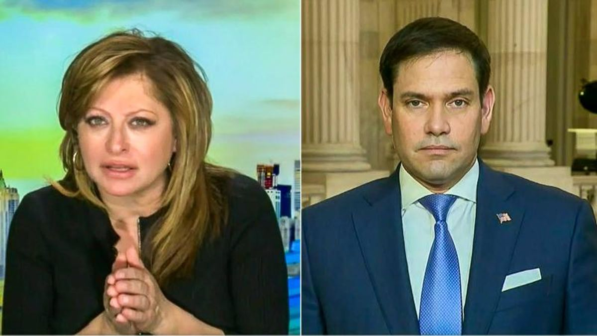 Maria Bartiromo grills Marco Rubio on flying saucers: 'What can you tell us about UFOs?'
