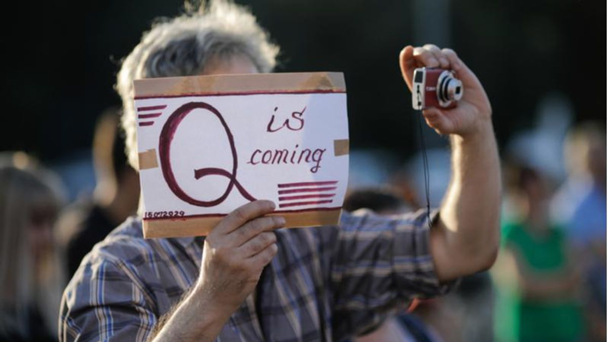 QAnon fans now say there is no 'Q' after conspiracy predictions repeatedly flop