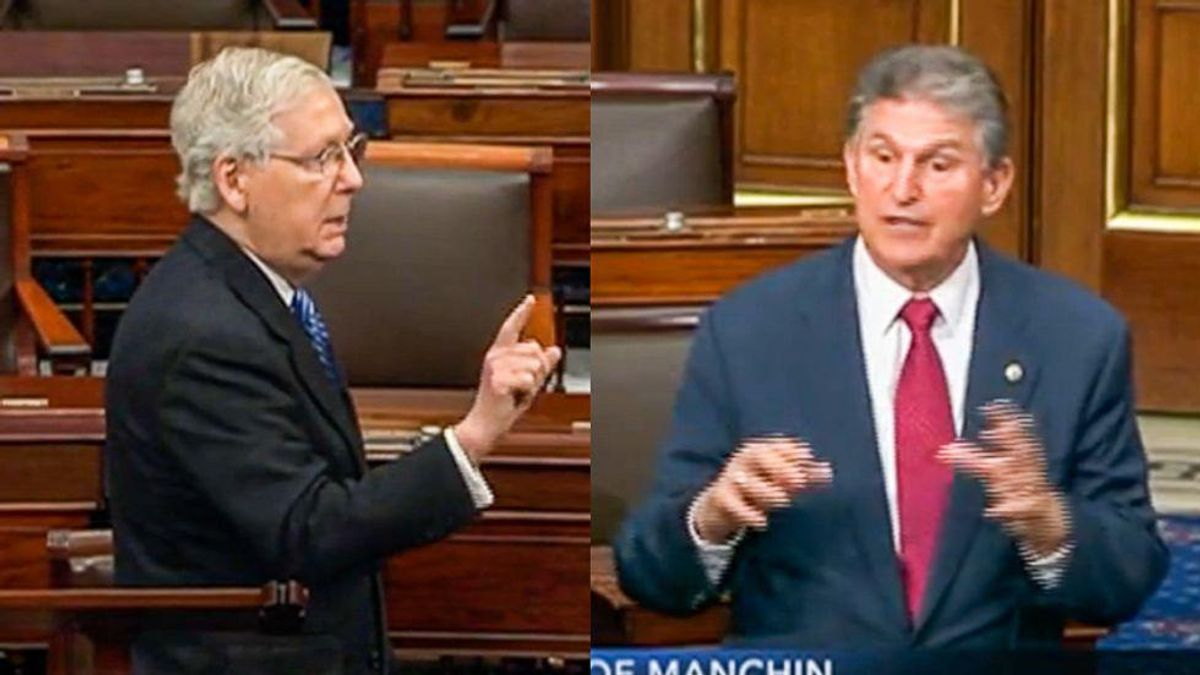 Senate Democrats face an existential choice: Kill filibuster or watch democracy die