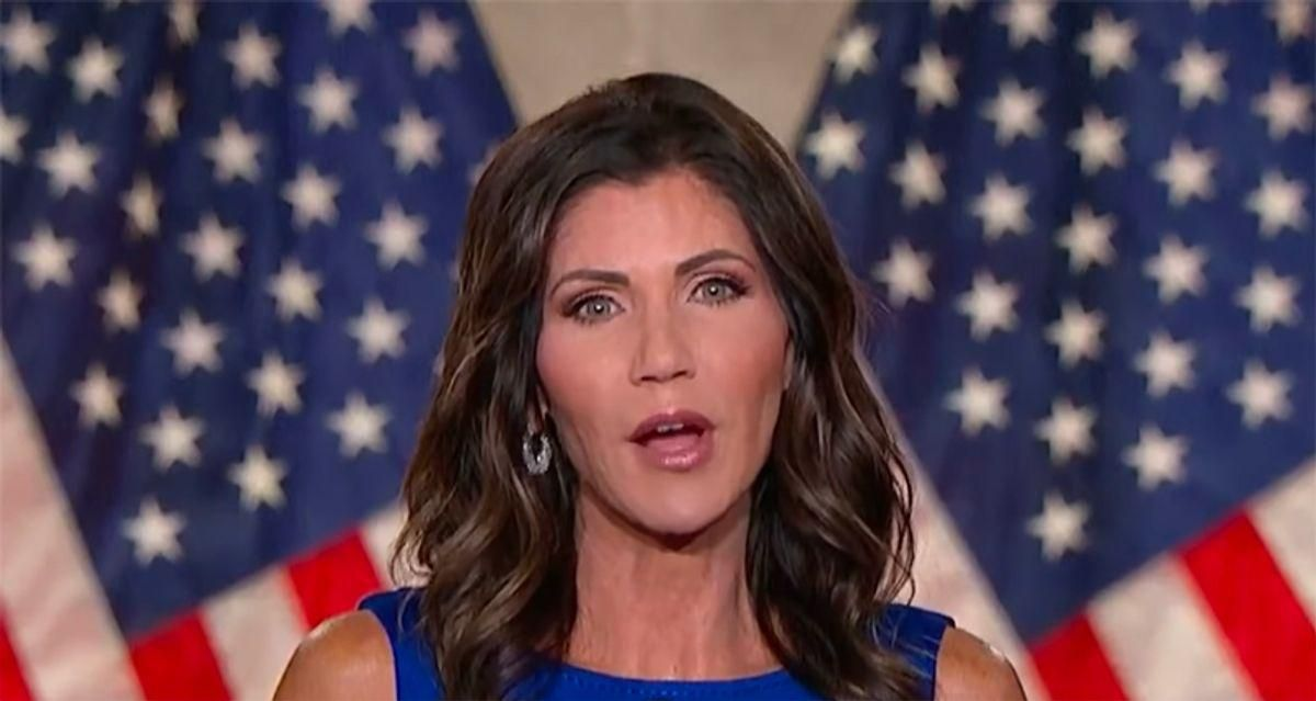 Kristi Noem's political future in shambles after right-wingers turn on her: report