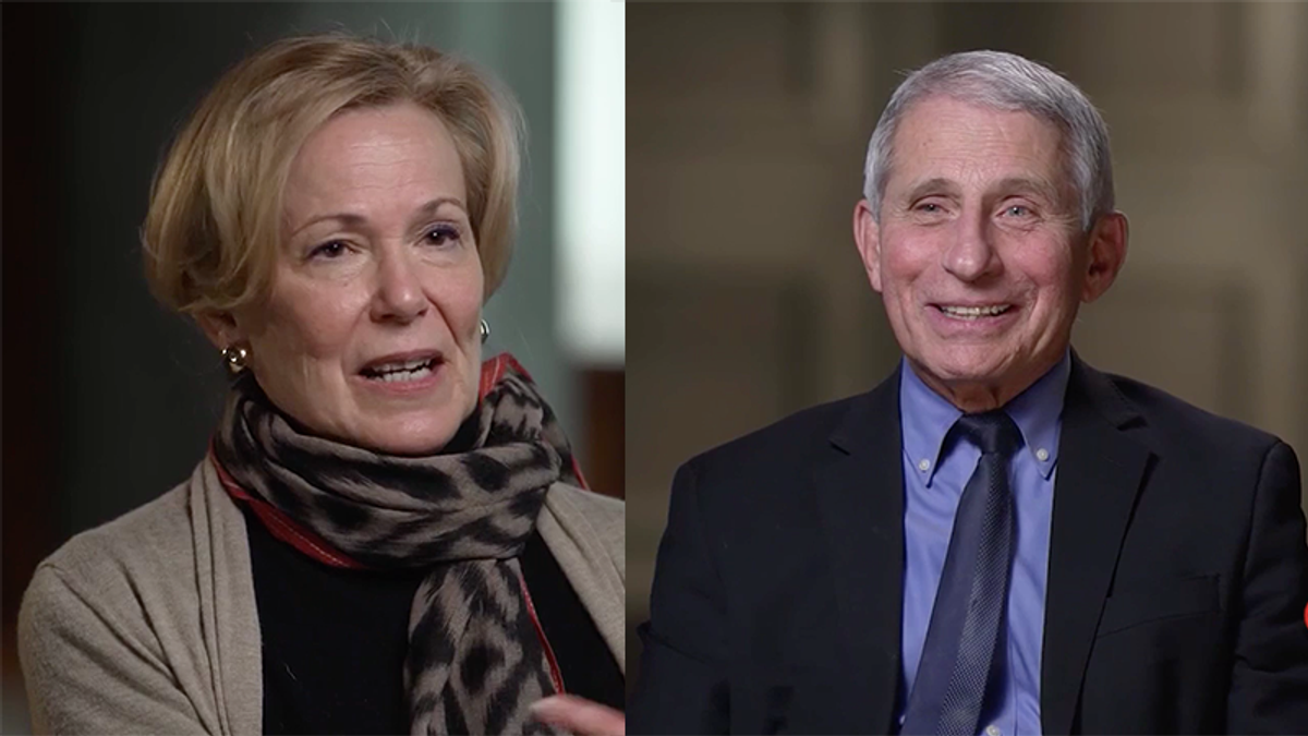 Fauci defends Deborah Birx and explains why 'I am very, very reluctant to condemn' anything she did