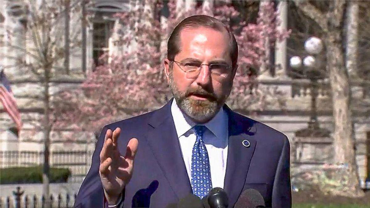 Former CDC director says Sec. Alex Azar pressured them to falsify COVID-19 data doctors needed