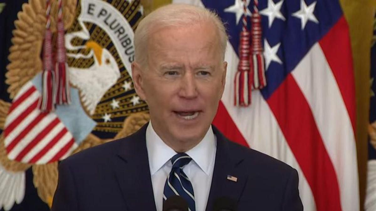 Here's the most significant line from Biden's press conference that the media totally missed