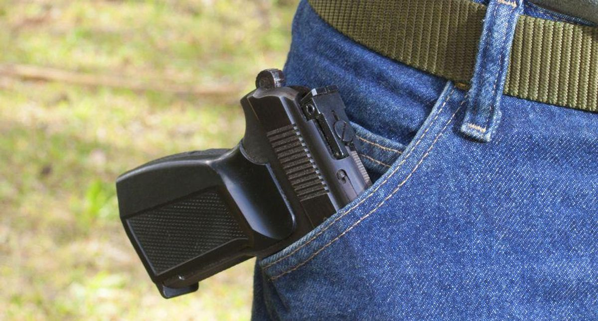 Domestic violence abuser files lawsuit after being denied a handgun permit: report