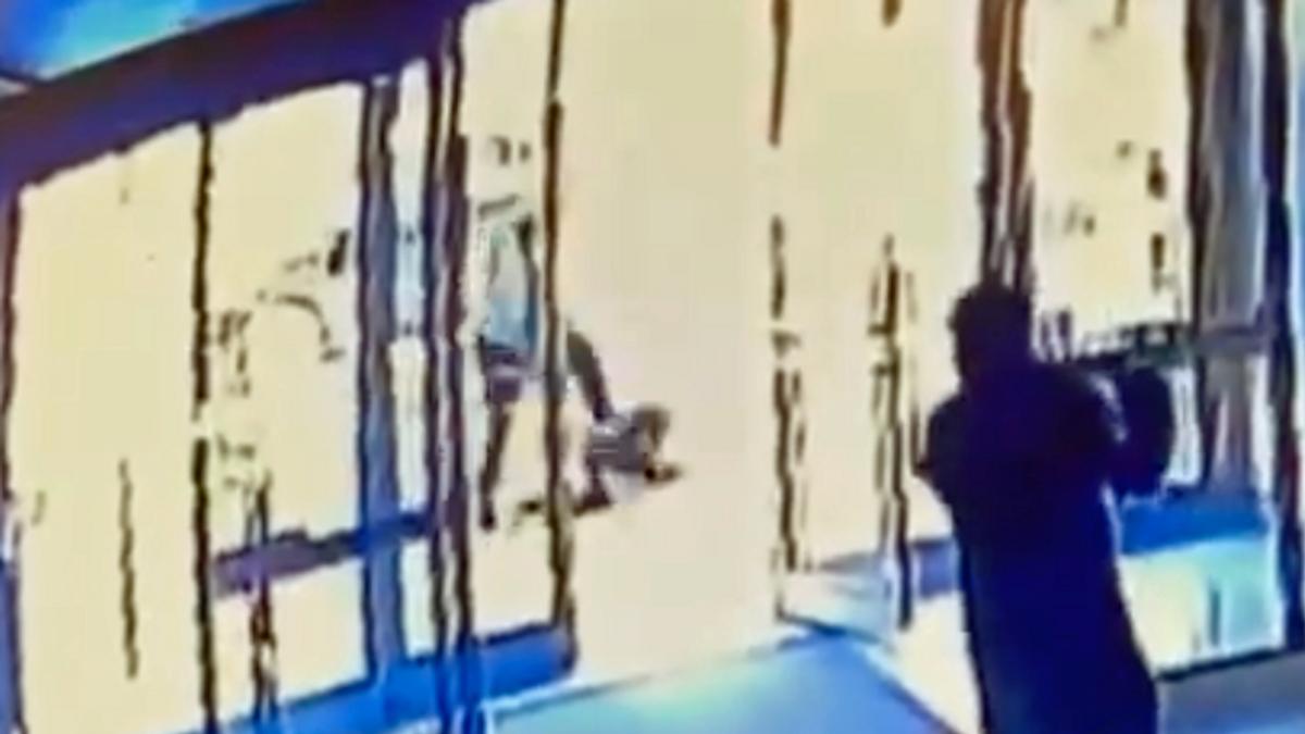 WATCH: Shocking video shows man stomping Asian-American woman