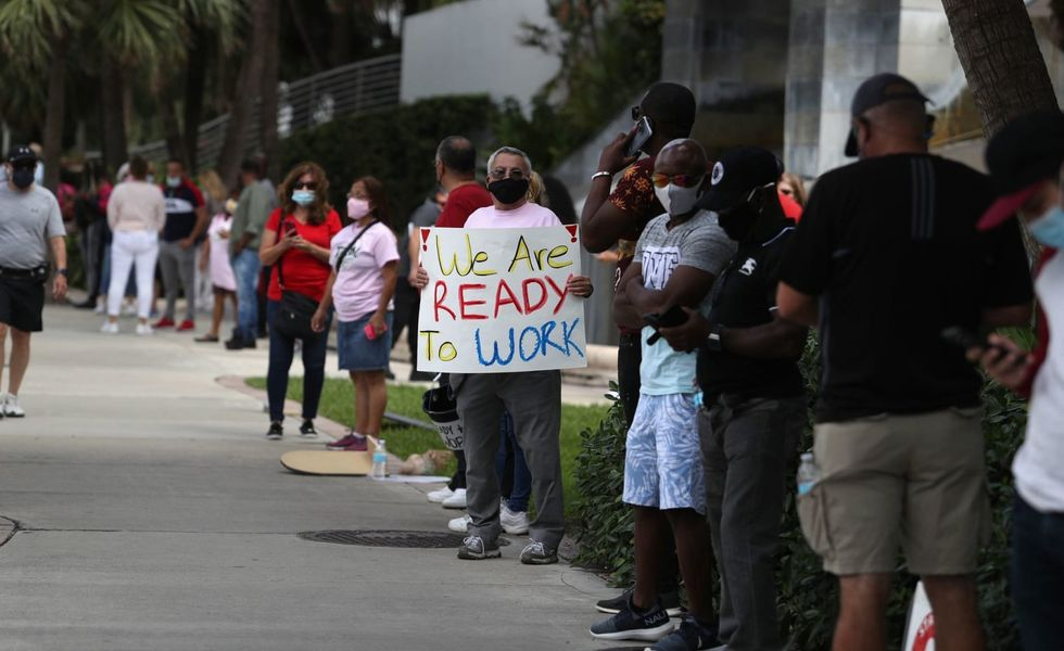 In some states, unemployment stays stubbornly high