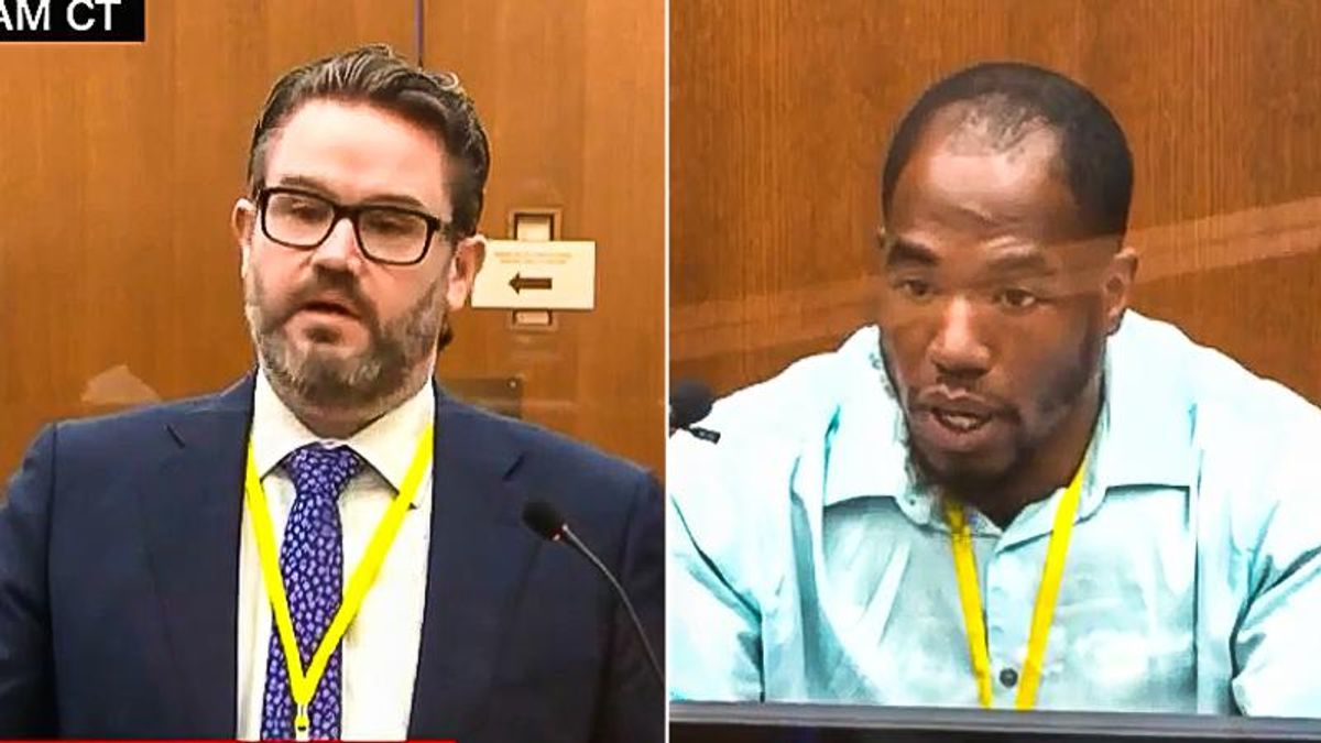 'You can't paint me as angry': Witness to George Floyd killing shuts down Derek Chauvin's defense attorney