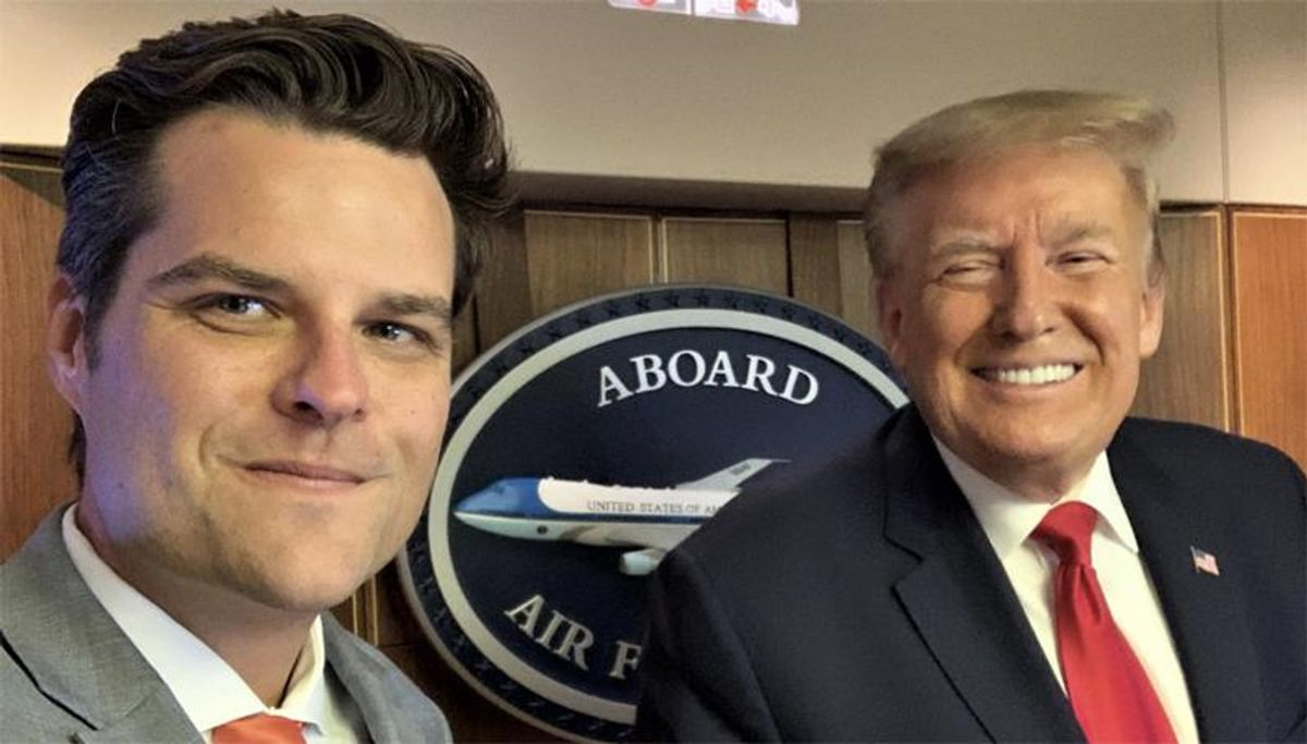 'Bye Felicia': Matt Gaetz brutally mocked after report reveals he is thinking about leaving Congress